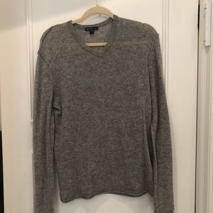 James Perse grey v neck sweater